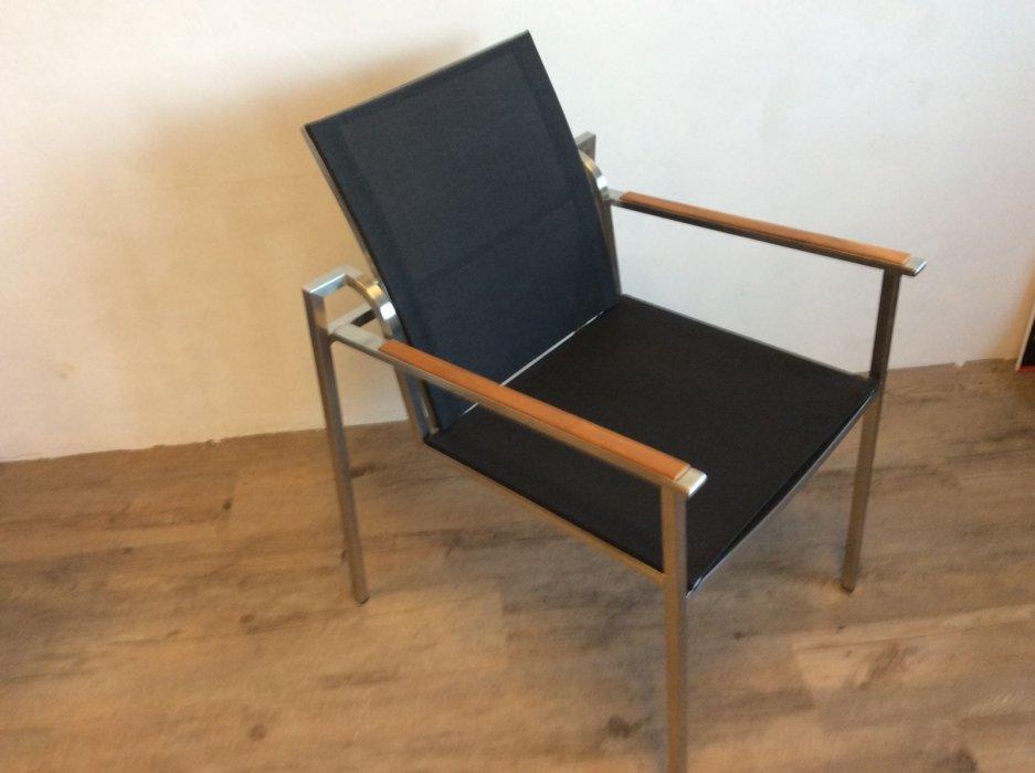 rvs lounge stoel